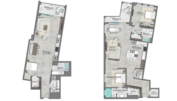 The Place on First reveals new studio apartment, redesigns floor plan